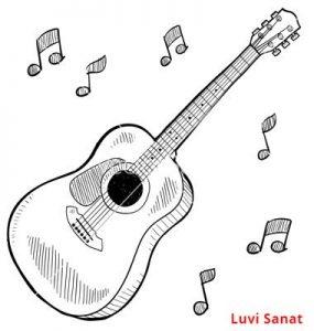 Gitar Çizim