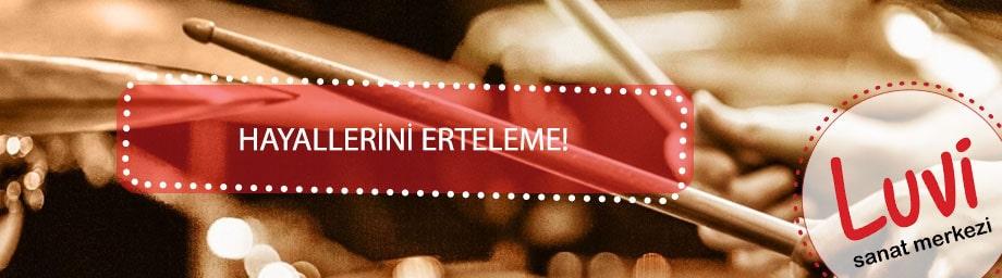 Bateri Kursu İzmir : En İyi Bateri Eğitmenleri İle Özel Ders