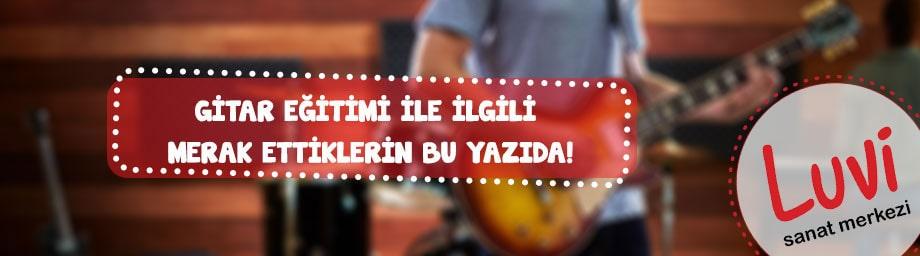Gitar Kursu İzmir Narlıdere | İzmir'in En İyi Gitar Dersleri